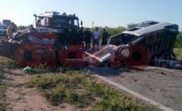 Accidente fatal en Santiago del Estero,tres muertos y mas de 10 heridos