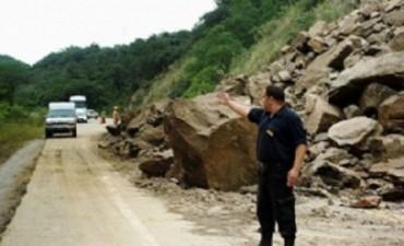 Advierten transitar con precaución por Ruta Nacional Nº 40 y 65