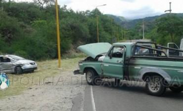 Grave accidente a la salida del Camping Municipal
