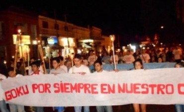 "Segunda marcha de silencio por la muerte de Rodrigo ""goku"" Aguilera"