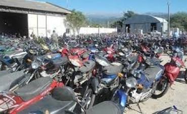 Secuestran cinco motos que corrían picadas