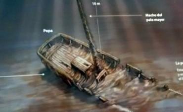 Hallan un buque que participó en la histórica Batalla de Obligado