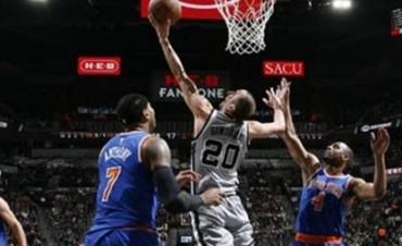 Ginóbili marcó 16 puntos en el triunfo de los Spurs