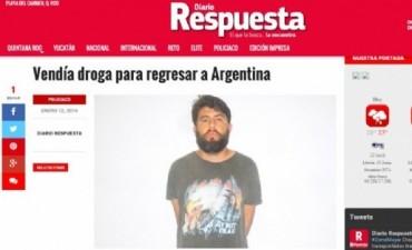 Catamarqueño arrestado en México por supuesta venta de droga