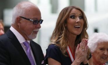 Muere esposo de Celine Dion