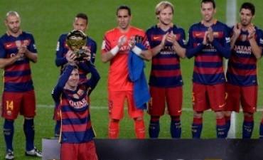 Barcelona se florea con un 5 a 0