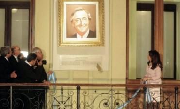Se bajará los cuadros de Néstor Kirchner de Casa Rosada