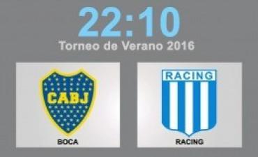 Boca debuta en el torneo de verano ante Racing en Mar del Plata