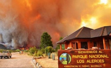 Detienen a dos sospechosos de provocar el incendio en Los Alerces