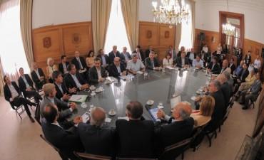 Reforma política: Rogelio Frigerio recibió a los partidos políticos