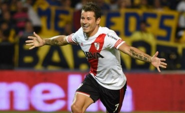 GOLES QUE ENA-MORAN: Gracias al uruguayo, River le ganó a Boca en Mendoza