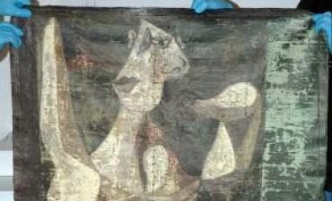 Recuperan pintura que se cree es de Picasso