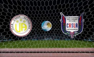 Cruce en fase preliminar regional: Unión Aconquija – San Lorenzo de Alem