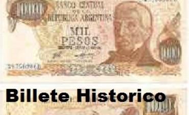 El Banco Central lanzará el billete de mil pesos