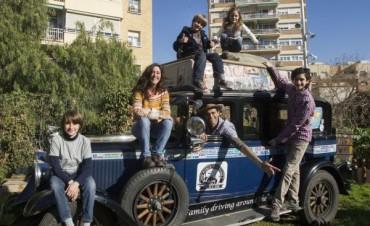 Una familia argentina lleva 17 Años dando vueltas por el mundo