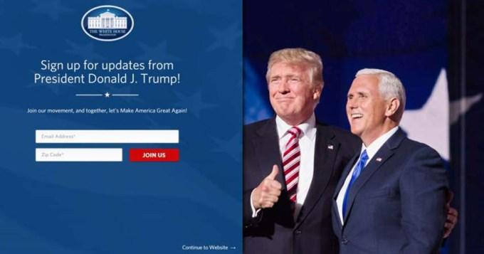 Eliminan traducción al español en web de la Casa Blanca