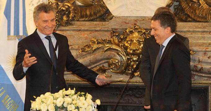 Macri le pidió a Dujovne