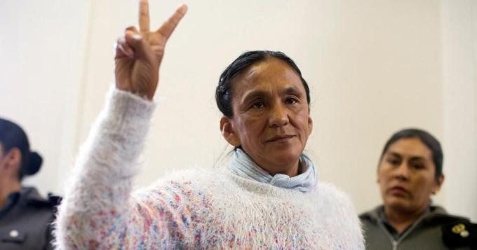 Rechazan hábeas corpus para liberar a Milagro Sala