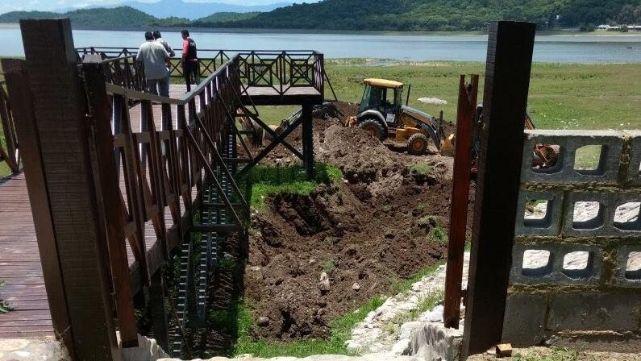 Allanamientos y excavaciones en propiedades de Milagro Sala