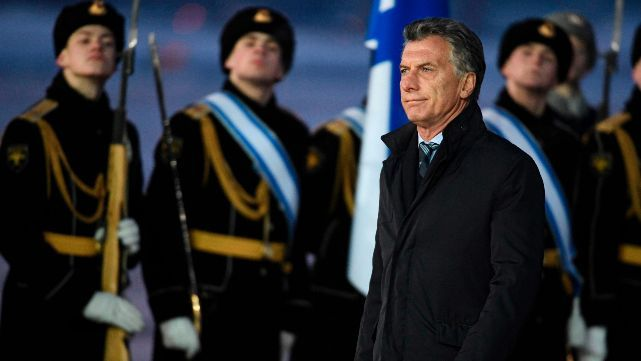 Macri llegó a Moscú, primer destino de su gira europea en busca de inversiones