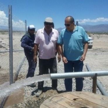Santa María ya cuenta con nuevo pozo de agua potable