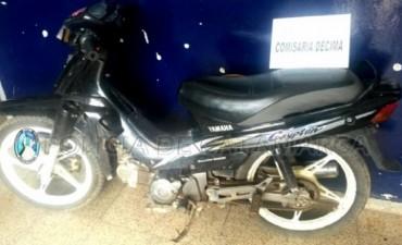 Recuperaron moto que fue robada en Valle Viejo