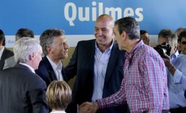 Macri inauguró junto a Randazzo las obras del tren Roca