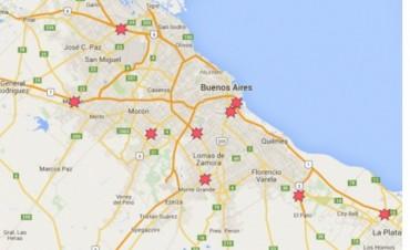 El mapa de los cortes de ruta por el pedido de liberación de Milagro Sala