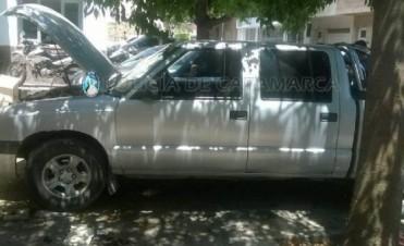 Encuentran en Catamarca una camioneta robada en Córdoba