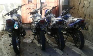 Recuperan 4 motos 0km de las 15 robadas en el pantanillo