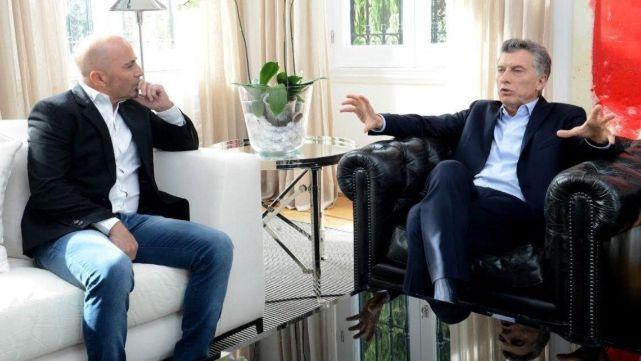 El insólito pedido de Macri a Sampaoli