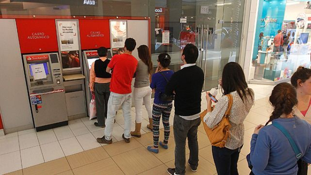 Paro bancario: temen cajeros vacíos
