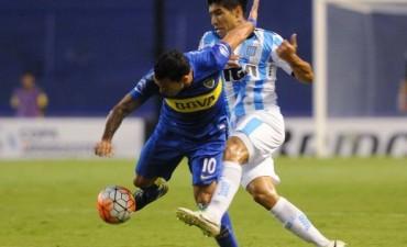 Boca y Racing empataron en un espantoso partido por la Libertadores