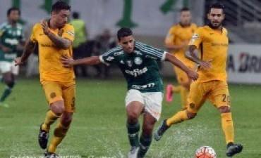 Central buscó hasta el último minuto pero no pudo con el Palmeiras en San Pablo
