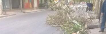 Por los fuertes vientos se suspendieron las clases en San Juan
