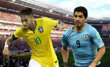 ELIMINATORIAS: Brasil y Uruguay empataron 2 a 2 en un partidazo