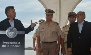 Macri se mostró con Colombi para intentar despegarlo del escándalo narco