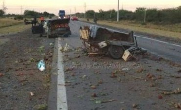 Grave  accidente en ruta 38