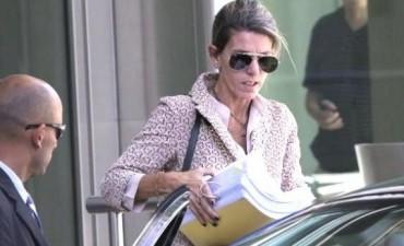 Extraño robo a la jueza Sandra Arroyo Salgado en el shopping Norcenter