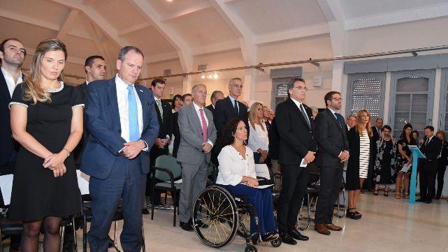 Homenajearon a las víctimas del atentado a la Embajada de Israel