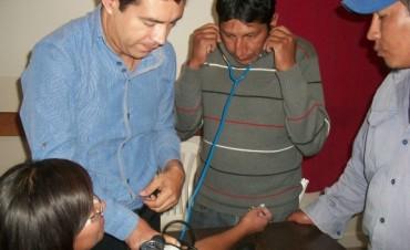 Taller sobre primeros auxilios en Antofagasta de la Sierra