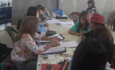 Operativo del Ministerio de Desarrollo Social de la Nación en Santa María