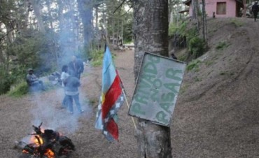 Ginóbili recupera sus tierras por un descuido de mapuches
