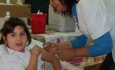 Campaña de vacunación en la Capital