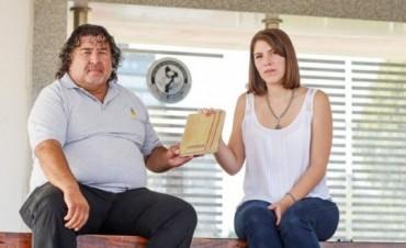 Malvinas y un cuaderno muy especial