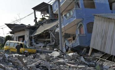 Un nuevo terremoto de 6,1 grados sacudió la costa norte de Ecuador