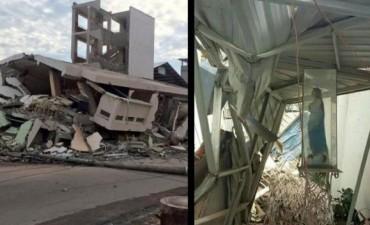 La Virgen que resistió intacta al terremoto de Ecuador