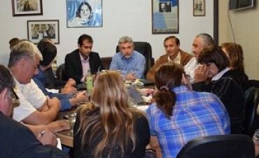 Reunión paritaria en educación