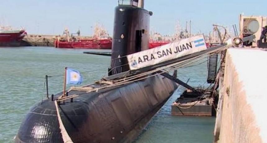 Hallaron una una radiobaliza que sería del ARA San Juan