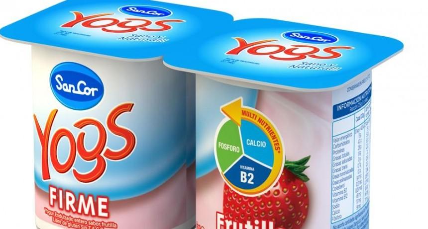 Retiran de venta 11 lotes de yogures